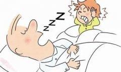 医生我老公打呼噜憋醒了怎么回事?